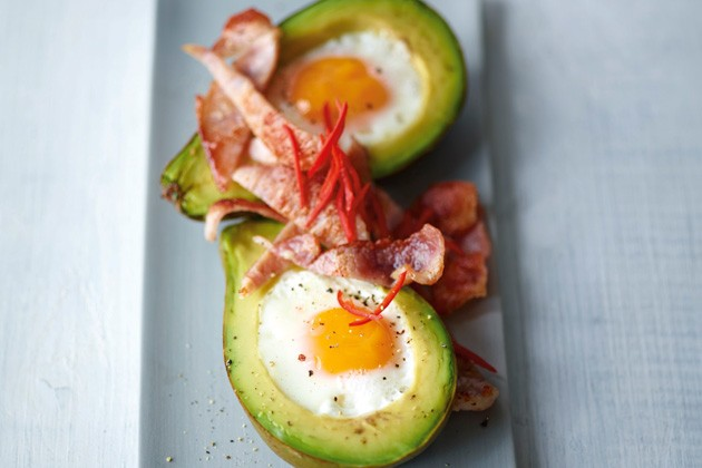 Baked avocado with eggs recipes - Joe Wicks recipes - Lean in 15 meals