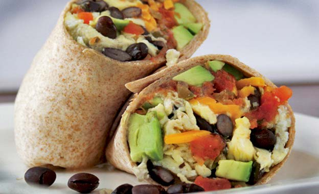 Quick healthy meals - cheat burrito - healthy burrito recipe