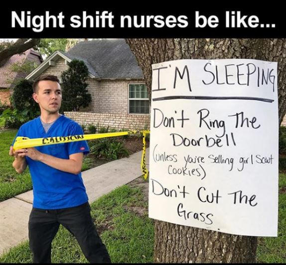 night shift memes - how to get through a night shift