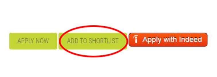 Use the Add to Shortlist button to save Your World jobs for later