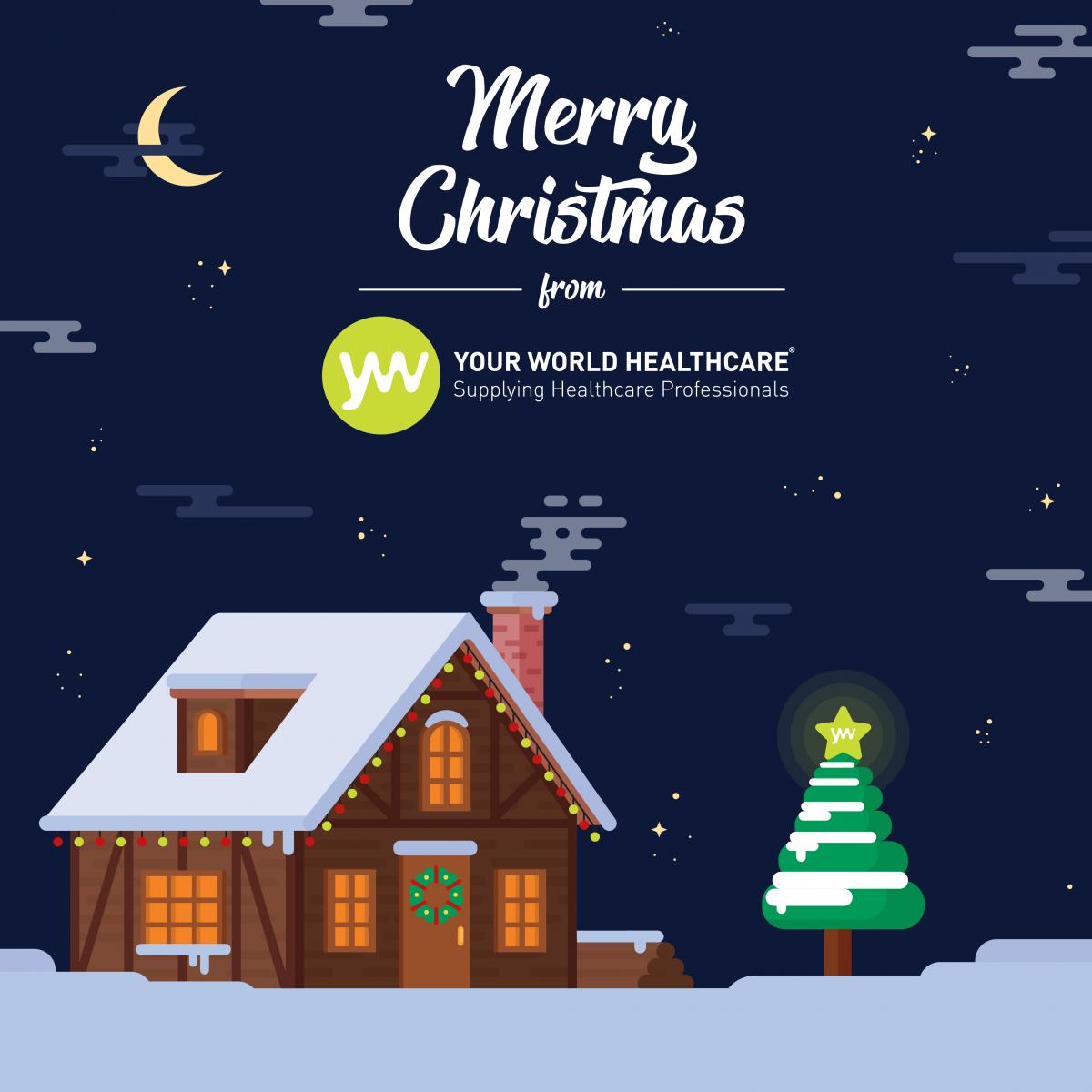 Merry Christmas from Your World - healthcare jobs for nurses available in the UK today