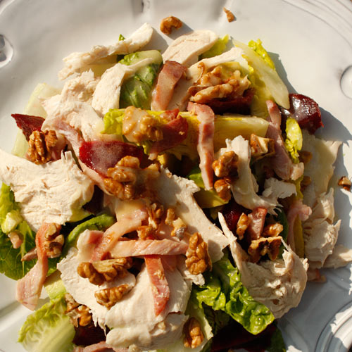 Chicken salad recipe - high protein salads - easy salad recipes