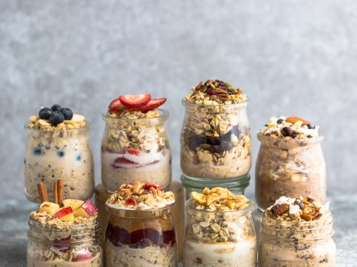 healthy recipes, easy recipes, healthy breakfasts, overnight oats recipe