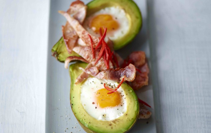 Joe Wicks Baked Avocado with Eggs Recipe