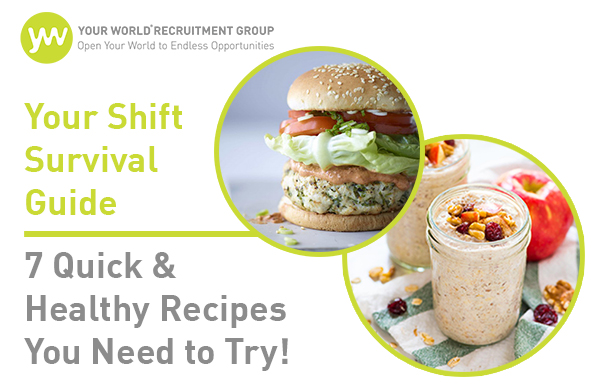 Say Goodbye to Convenient Junk Food Before/After Shifts!