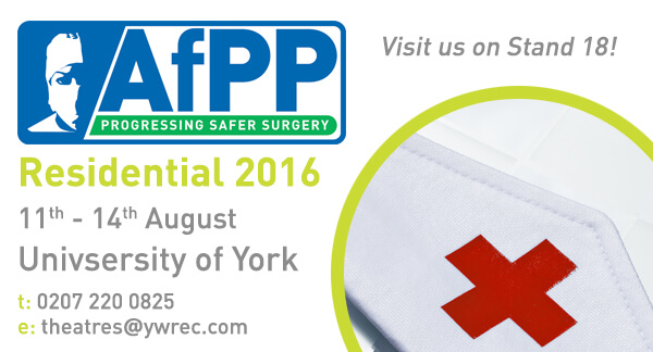 AfPP Residential 2016: 11th - 14th August