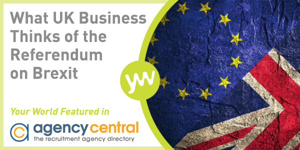 Your World Featured in Agency Central - 24 May 2016