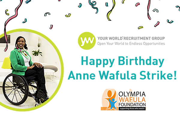 Happy Birthday Anne Wafula Strike!