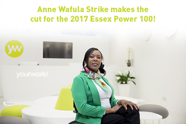 Congratulations Anne Wafula Strike!