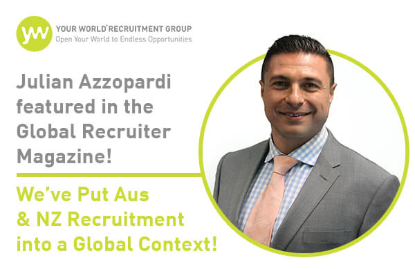We've Put Aus & NZ Recruitment into a Global Context