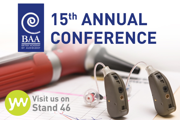 Who's heading to the British Academy of Audiology's Annual Conference?