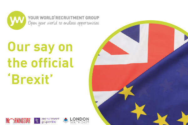 Our Say on the Official 'Brexit'