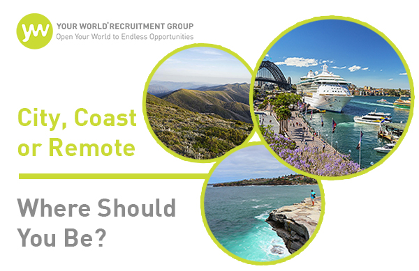 City, Coast or Remote- Where Should You Be?
