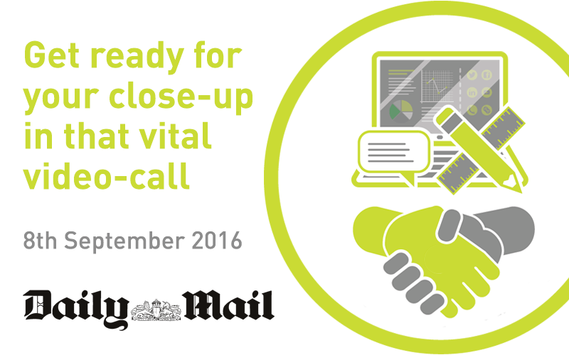 Get ready for your close-up in that vital video-call