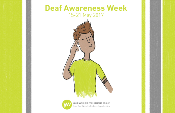 It's Deaf Awareness Week