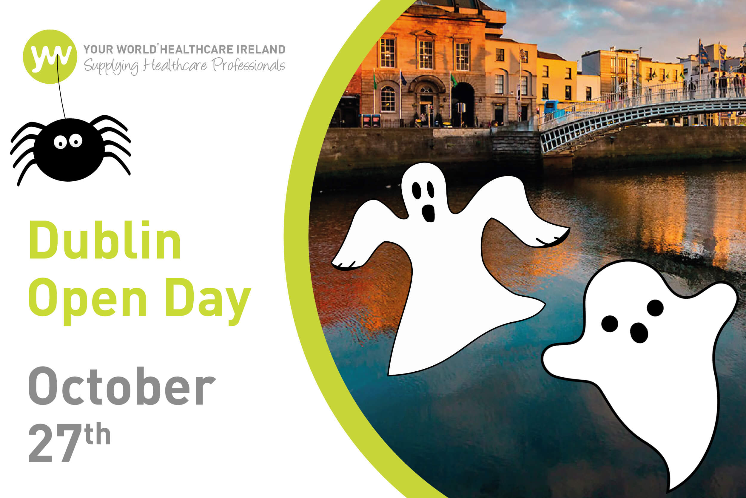 Don't Miss Our Spooky International Open Day - Thurs 27th October!