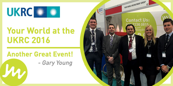 Your World at the UKRC 2016 - Another great event!