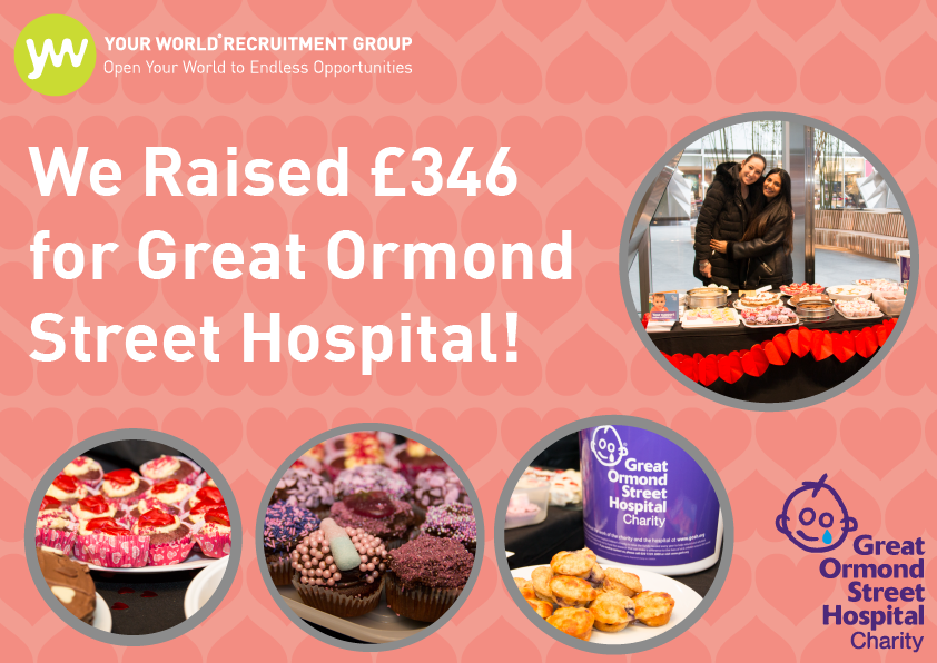 Our Valentine's Day Bake Sale Raised £346 for GOSH!