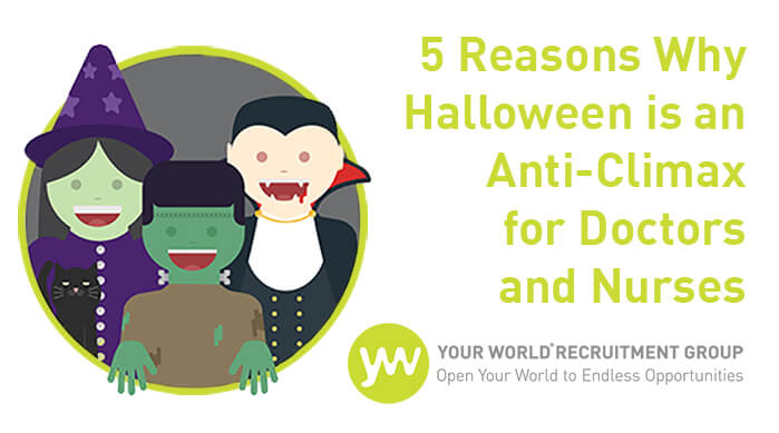 5 Reasons Why Halloween is an Anti-Climax for Doctors and Nurses