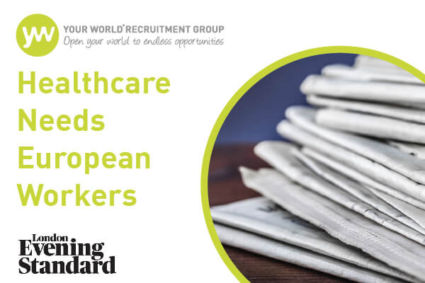 Your World Managing Director Discusses Brexit and Healthcare in The Evening Standard