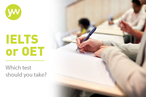 IELTS or OET - which test should Nursing professionals take?