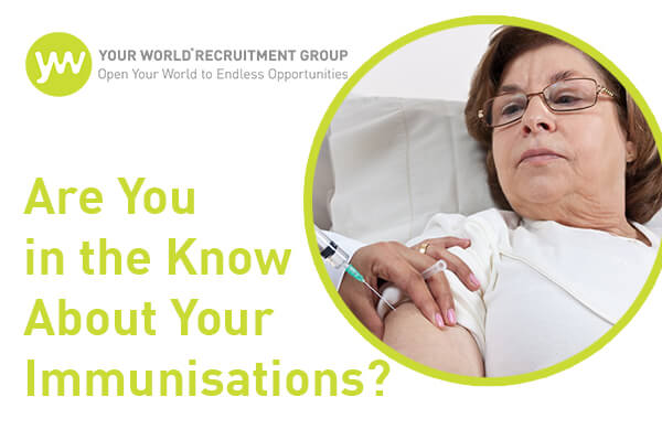 Are You in the Know About Your Immunisations?