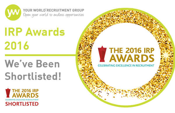 IRP Awards 2016: We've Been Shortlisted!