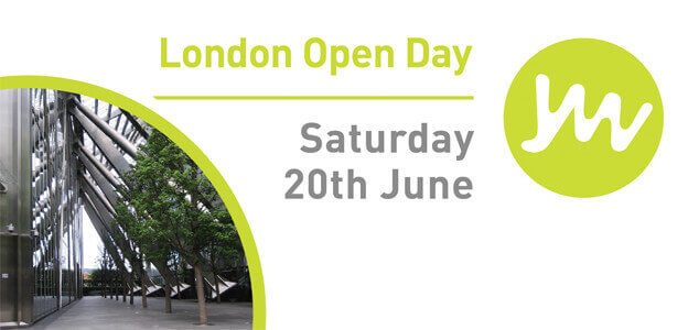 London 20th June Open Day - Planned to Perfection