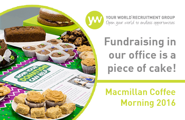 Macmillan Coffee Morning 2016: The Great Your World Bake-Off!