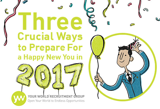 3 Crucial Ways to Prepare For a Happy New You in 2017!