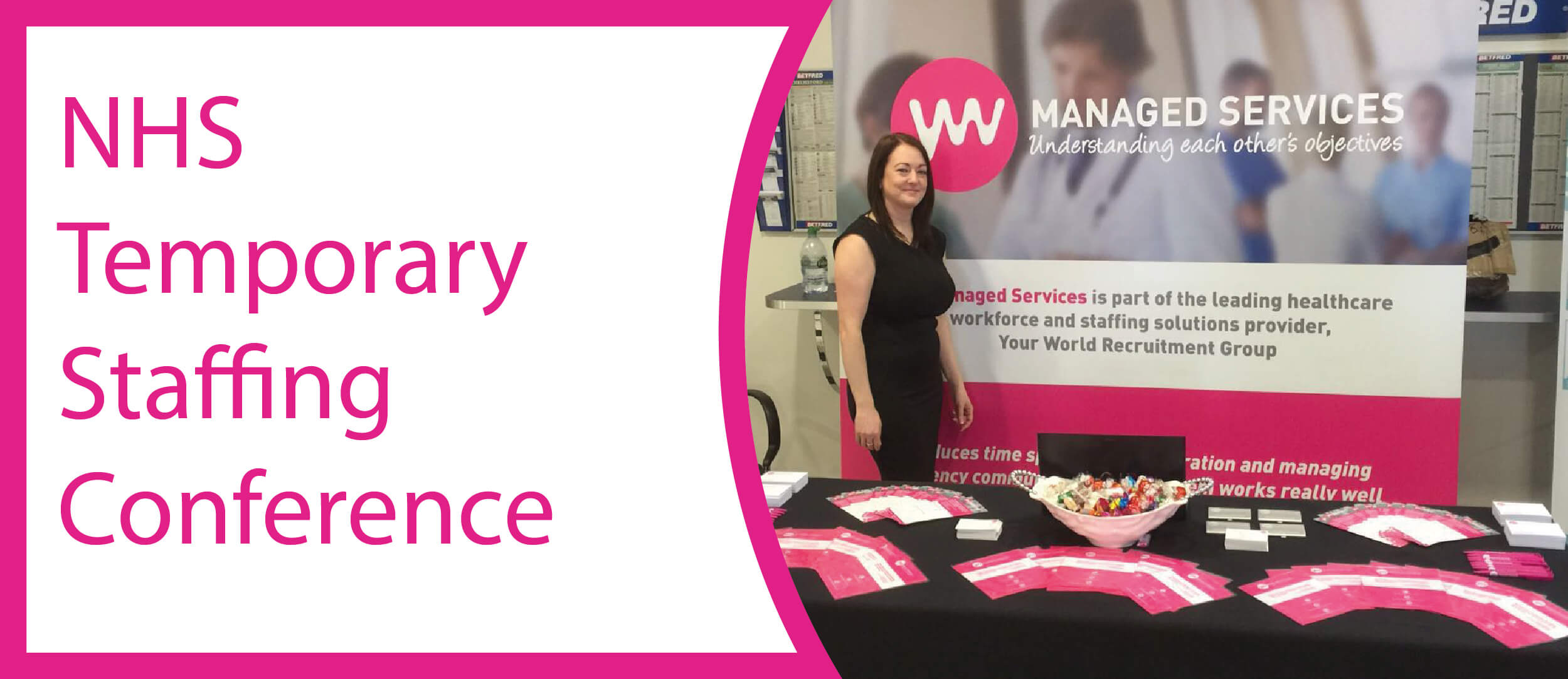 YW Managed Services at the NHS National Temporary Staffing Conference