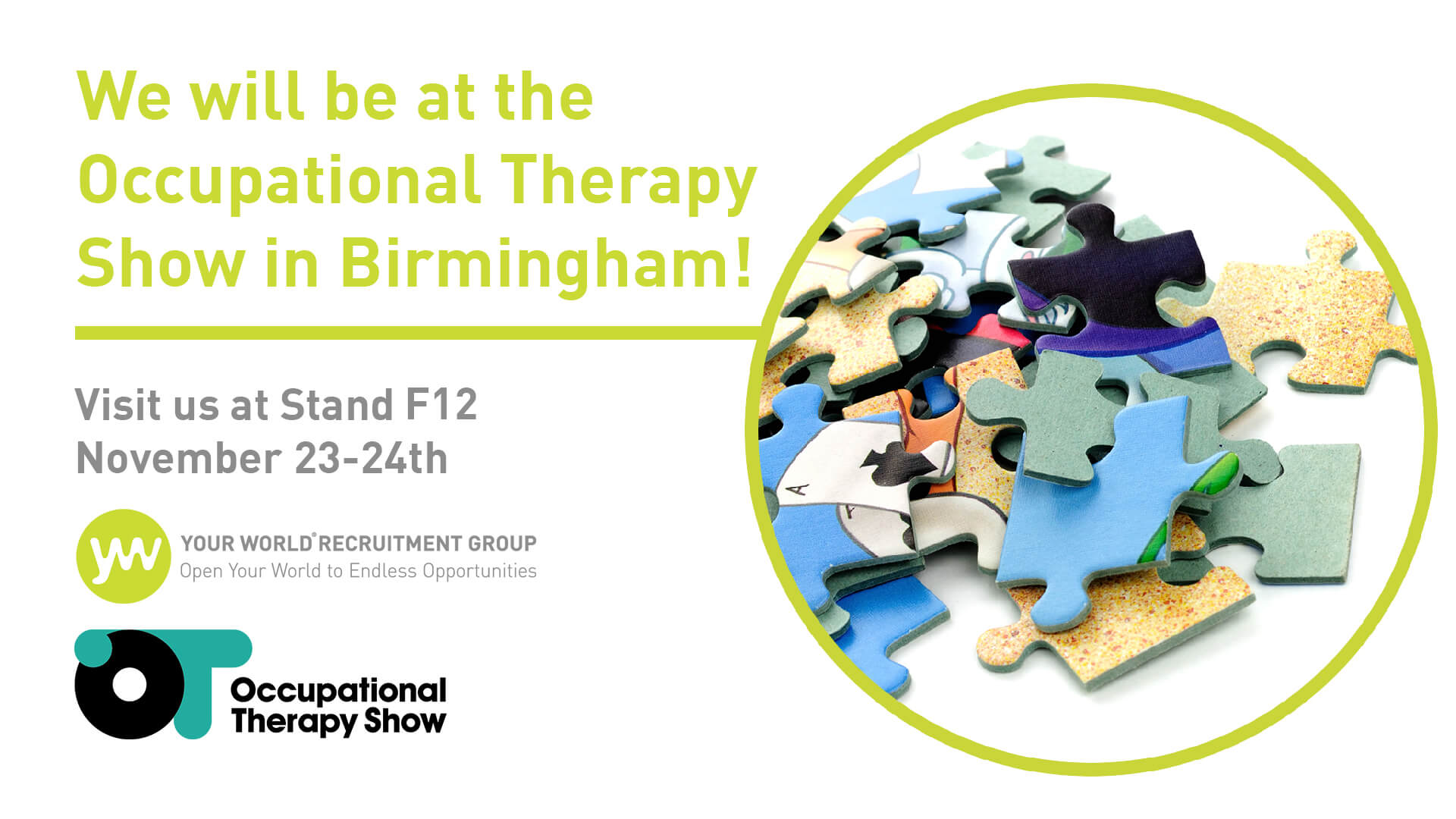 The OT Show is FREE to Attend!