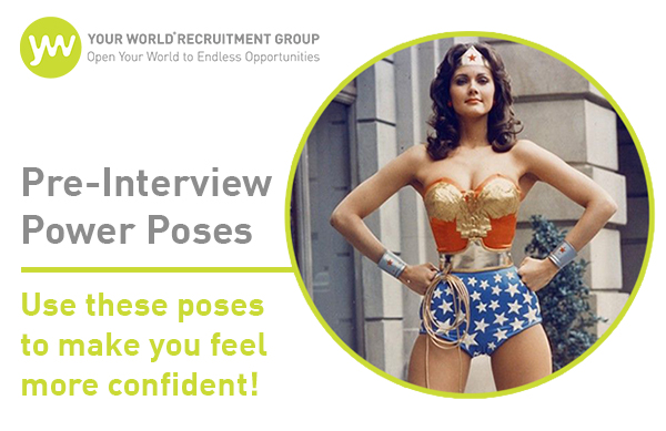 Feel More Confident Before Interviews With These 'Power Poses'