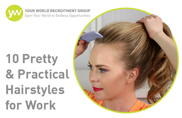 Beautiful and Practical Updos for Work