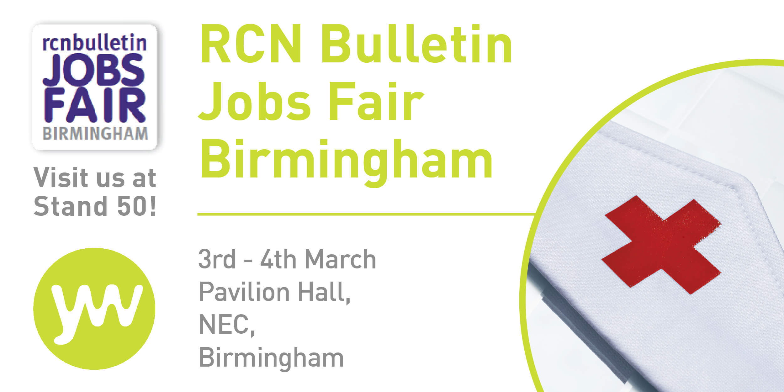 RCN Bulletin Jobs Fair Birmingham: 3-4 March 2016