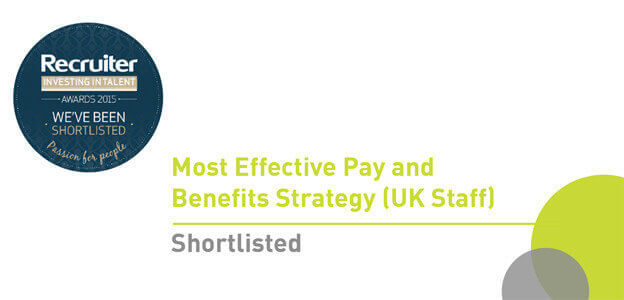 We've Been Shortlisted For The Recruiter Investing In Talent Awards 2015