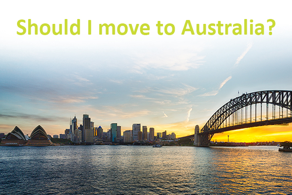 Is Australia a good country to work and settle in?