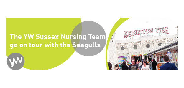 The YW Sussex Nursing Team go on tour with the Seagulls