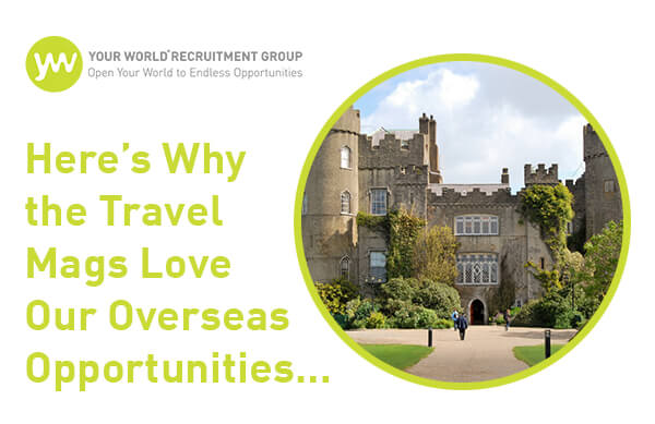Here's Why the Travel Mags Love Our Overseas Opportunities...