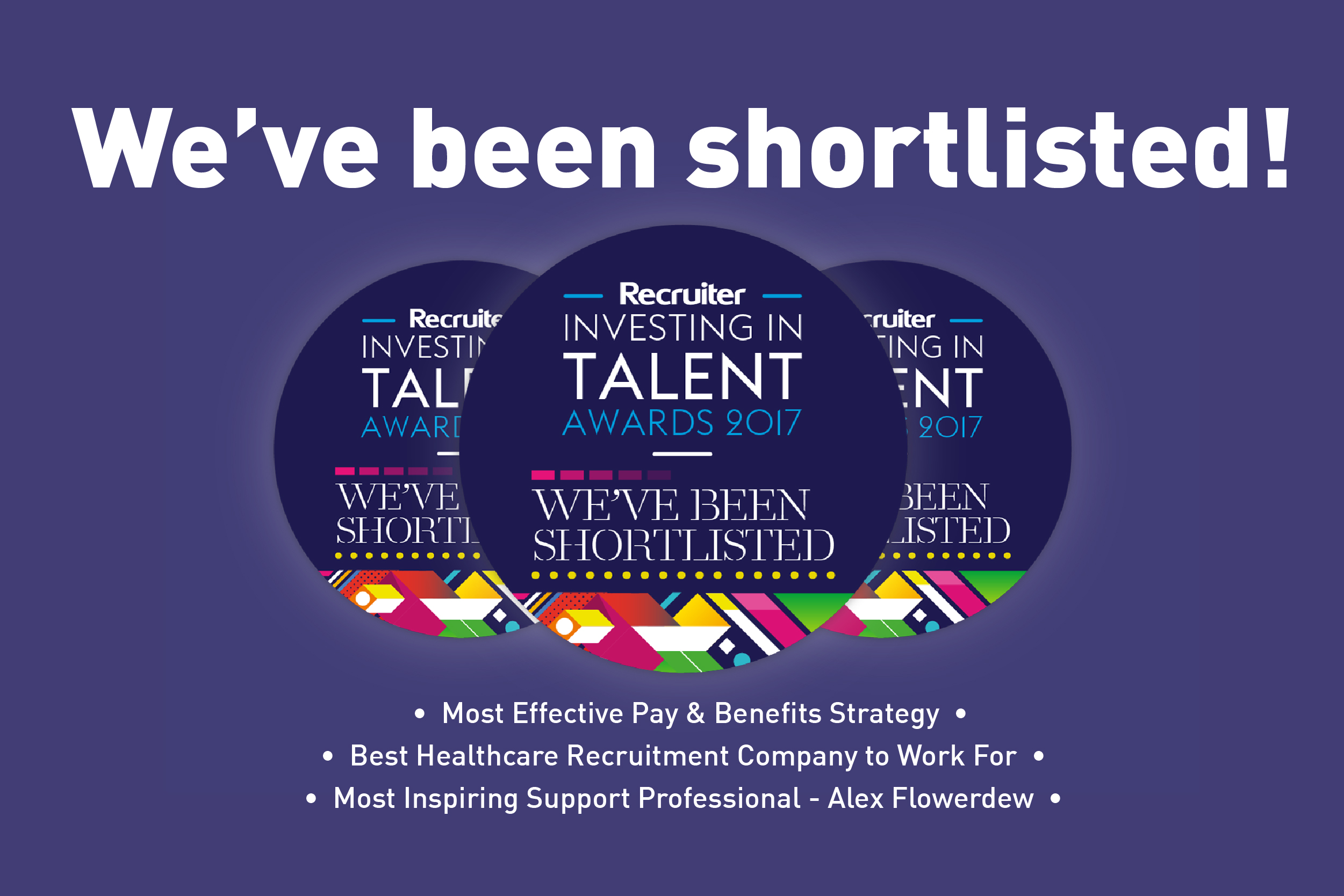 We've Been Shortlisted for Three RITAs!