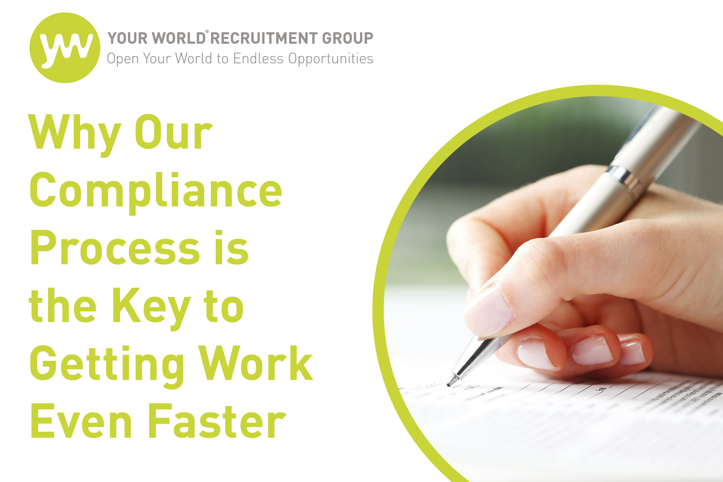 Why Our Compliance Process is the Key to Getting Work Even Faster