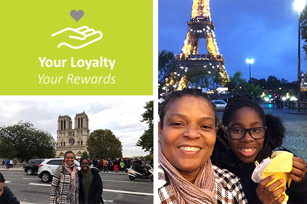 A Winner's Story: Your Loyalty takes Victoria to Paris