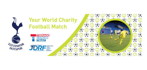 Your World Charity Football Match