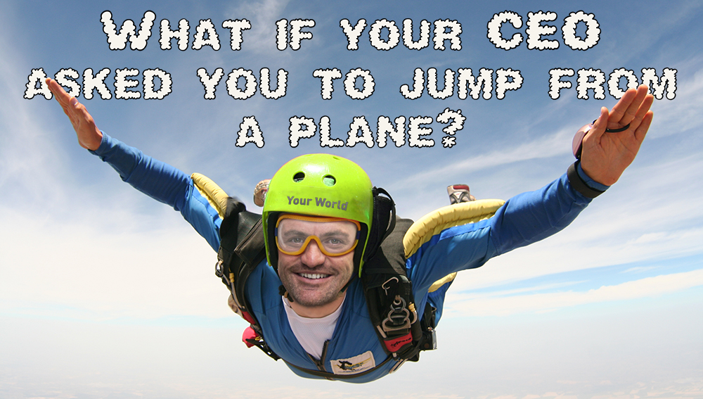 Your World Charity Skydive